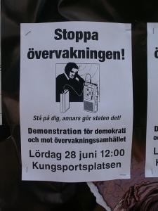 Stoppa övervakningen