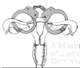 Uterus in chains