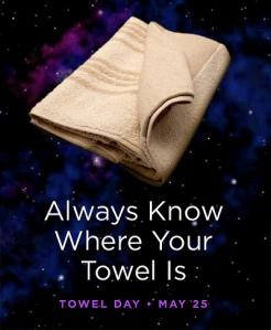 towel day 25th may