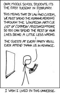 xkcd - misconceptions